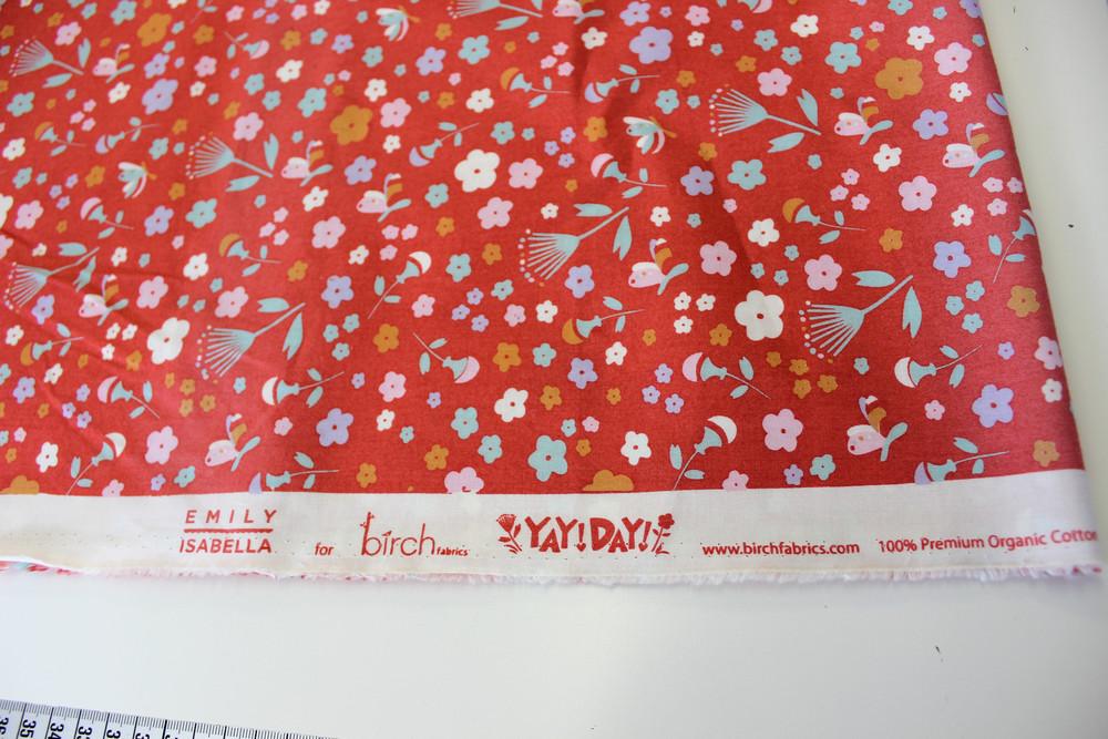 Baumwolle birch fabrics YAY DAY Patchworkstoff
