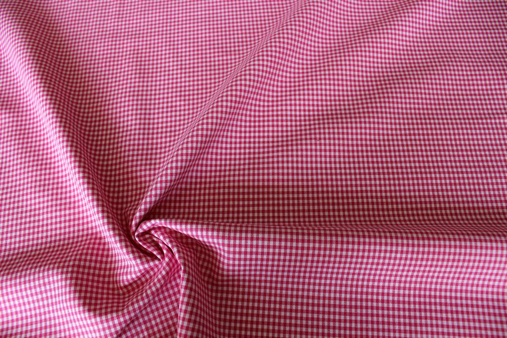 Vichykaro 2mm pink weiß