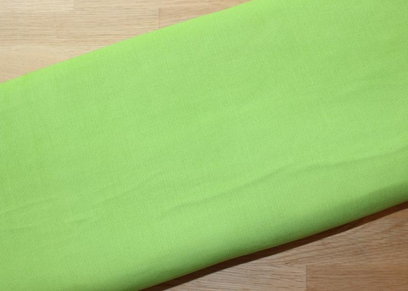 Babycord uni Feincord apfelgrün