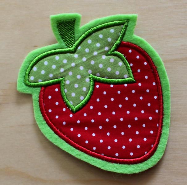 Applikation Erdbeere - 1