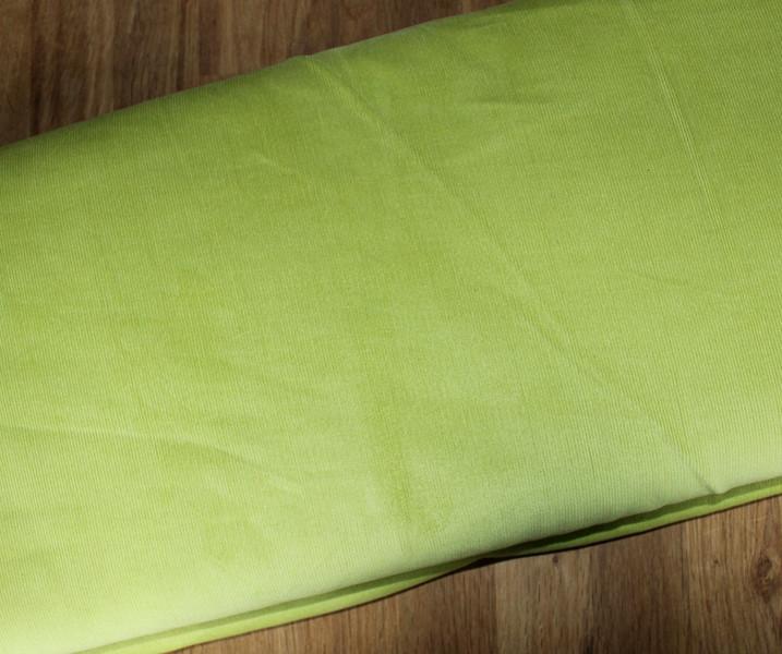 Babycord uni Feincord lindgrün
