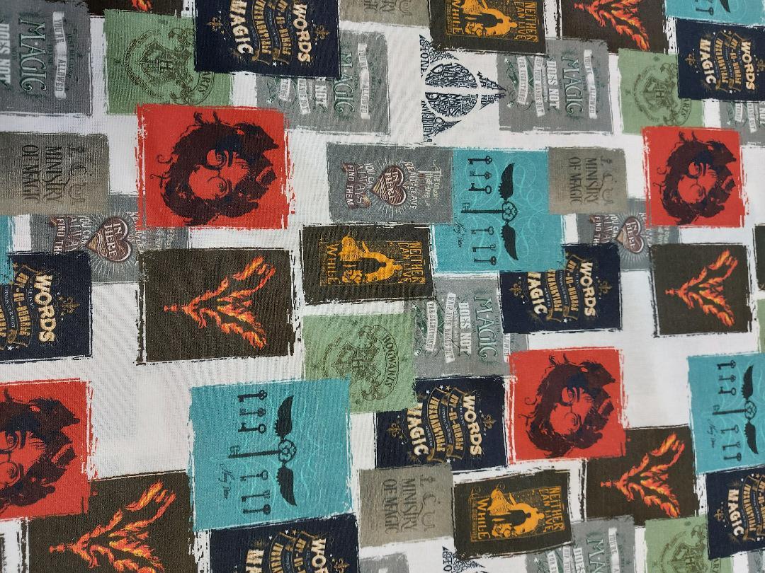 Baumwolle Harry Potter Schriftzüge 2