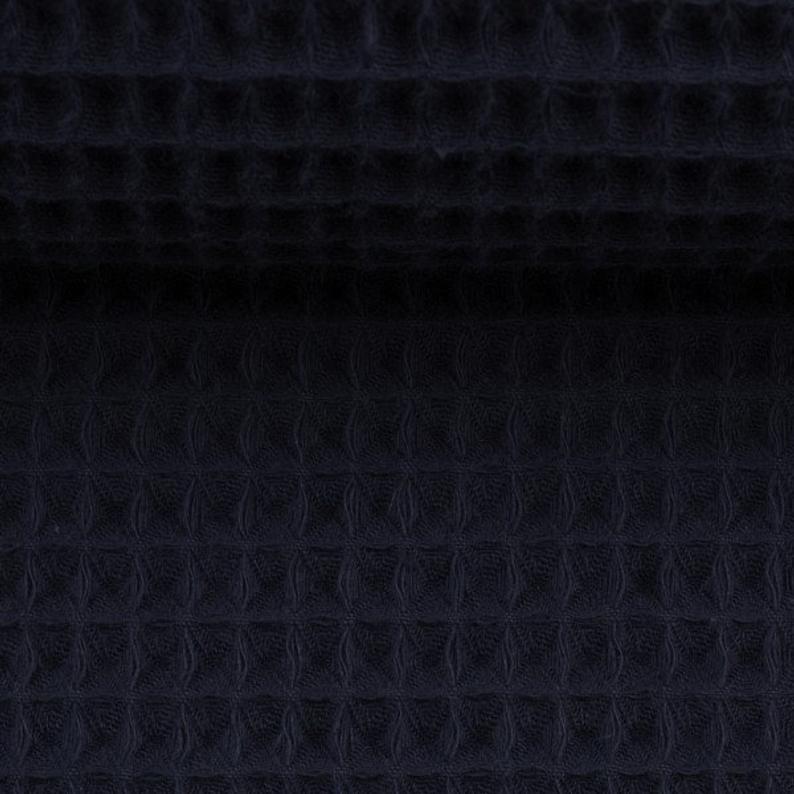 Waffelpique Waffelstoff verschiedene Farben 2