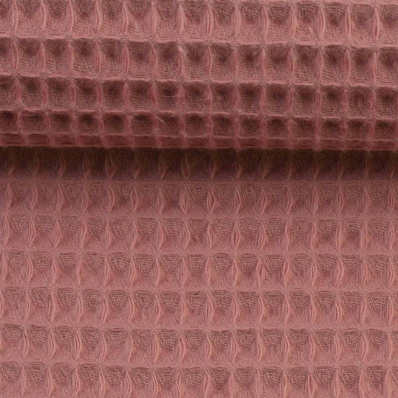 Waffelpique Waffelstoff verschiedene Farben 4