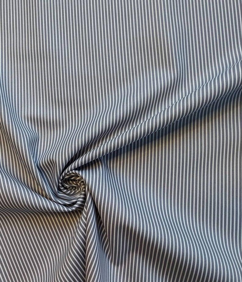 Baumwolle feine Streifen