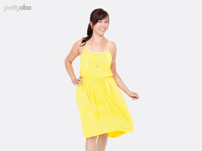 Schnittmuster Kleid Coco/ pattydoo Trägerkleid 2