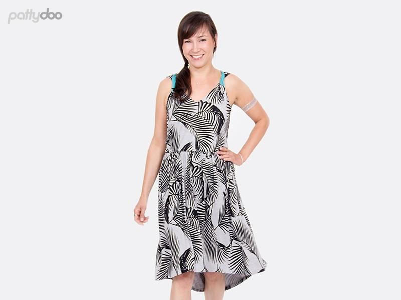 Schnittmuster Kleid Coco/ pattydoo Trägerkleid 3