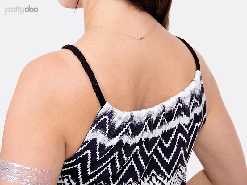 Schnittmuster Kleid Coco/ pattydoo Trägerkleid 6