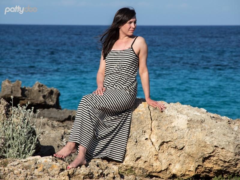 Schnittmuster Kleid Coco/ pattydoo Trägerkleid 8