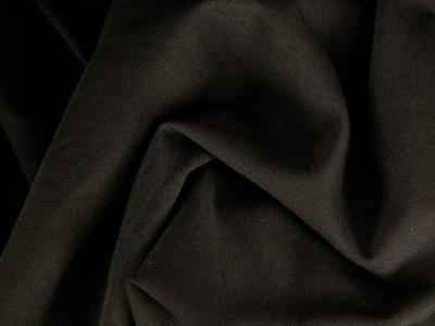 Sweat angerauht uni schwarz kuschelig und