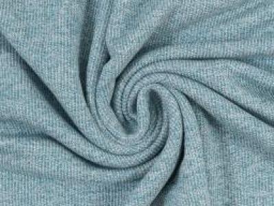 Strickstoff Marvin Swafing petrol - Toller leichter Baumwollstrick perfekt geeignet fuer Cardigans und Oversize- Pullis