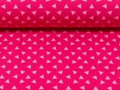 Baumwolle kleine Dreiecke erika