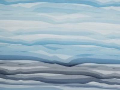 Wavy Stripes Baumwolljersey Swafing hellblau - Streifen gehen immer