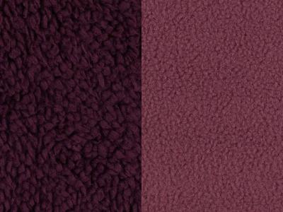 Doubleface Fleece Tamme 1450 Eur/m bordeaux