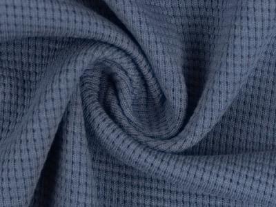 Waffeljersey 100 Baumwolle jeansblau 1450 EUR/m