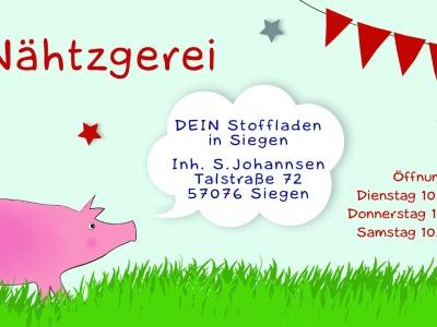 Kindernähkurs in der Nähtzgerei/ Projekt Elefant oder Marienkäfer - lerne nähen in der Nähtzgerei