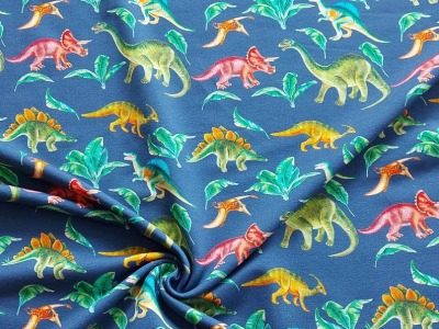 Sweat French Terry Dinos Dinosaurier