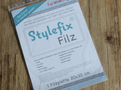 Stylefix- Filz Gewebeverstärkung 20x30cm