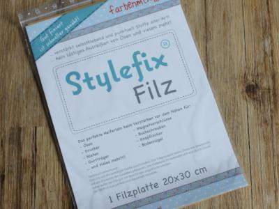 Stylefix- Filz, Gewebeverstärkung 20x30cm