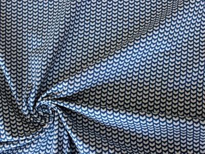 Mini Fin by Lila- Lotta Baumwolle mit Flossen dunkelblau - Baumwolle Webware Oeko- Tex- Standard 100