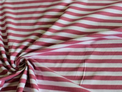 Streifenjersey Jersey Streifen rosa altrosa weiß Ringel