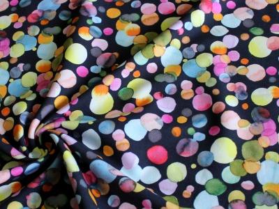 French Terry Watercolour Confetti Wasserfarben Konfetti
