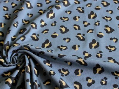Jersey Glitzer Leo Animal Leopard