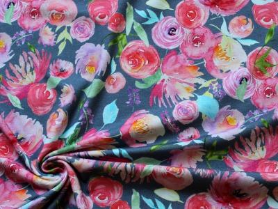 Jersey Blumen Aquarell