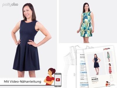 Schnittmuster Kleid Marie/ pattydoo