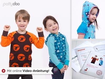 Schnittmuster Kindershirt Leo/ pattydoo
