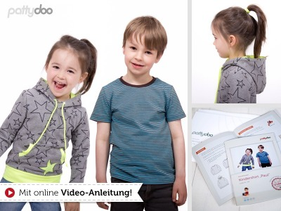 Schnittmuster Kindershirt Paul / pattydoo