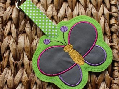 Reflektoranhänger Schmetterling