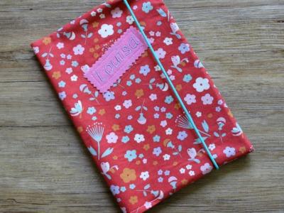 U- Heft Hülle Blumen Hülle fürs U- Heft