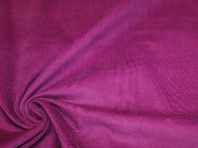 Feincord Babycord uni violett