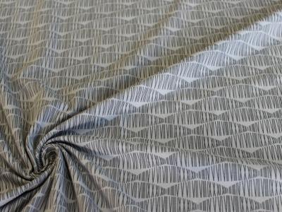 Avalana Jersey Wellenmuster grau dänisch