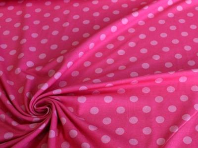 Avalana Jersey Punkte rosa rot dänisch