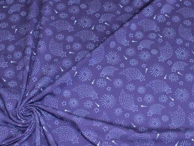 Jersey Sterne dunkelblau