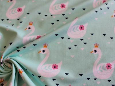 Jersey Schwan Swan Princess mint