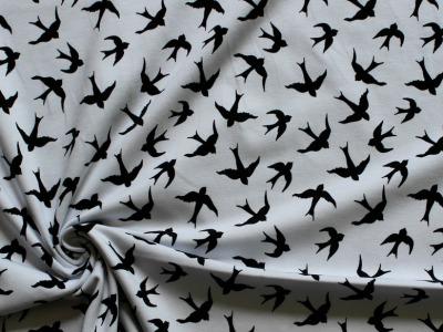 Jersey Schwalben weiß schwarz