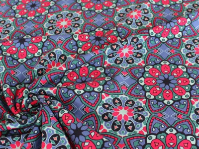 Jersey Mandala blau