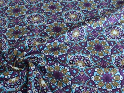 Jersey Mandala lila