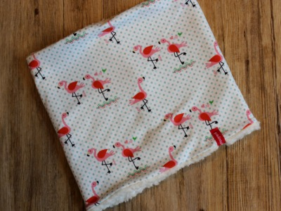 Kinderloop Schlupfschal Flamingo