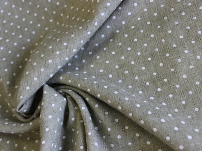 Baumwoll- Polyester Druck Punkte