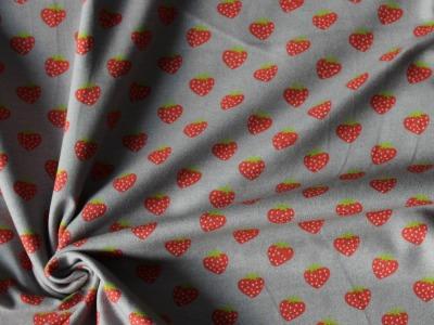 Jersey Erdbeeren grau