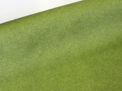 Beschichtete Baumwolle grün