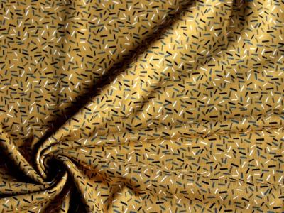 Jersey Sprinkles Konfetti senf senfgelb