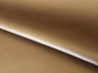 Kunstleder metallic bronze