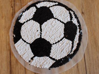 Wendepailetten Applikation Fußball Wendepailette