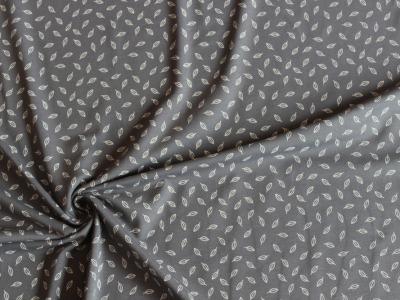 Jersey Blätter grau