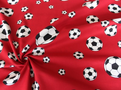Baumwolle Fussball Fußball rot